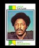 1973 Topps ROOKIE Football Card #288 Rookie Jack Tatum Oakland Raiders. NM+