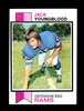 1973 Topps ROOKIE Football Card #343 Rookie Hall of Famer Jack Youngblood L