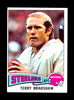 1975 Topps Football Card #461 Hall of Famer Terry Bradshaw Pittsburgh Steel