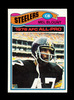 1977 Topps Football Card #180 Hall of Famer Mel Blount Pittsburgh Steelers.