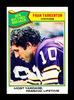 1977 Topps Football Card #454 Record Breaker Hall of Famer Fran Tarkenton M