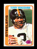 1978 Topps Football Card #65 Hall of Famer Terry Bradshaw Pittsburgh Steele