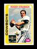 1978 Topps Football Card #290 Hall of Famer Roger Staubach Dallas Cowboys.