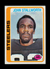 1978 Topps ROOKIE Football Card #320 Rookie Hall of Famer John Stallworth P