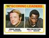 1978 Topps Football Card #334 Scoring Leaders Mann-Payton. NM+ Condition