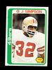 1978 Topps Football Card #400 Hall of Famer OJ Simpson San Francisco 49ers.