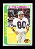 1978 Topps Football Card #443 Hall of Famer Steve Largent Seattle Seahawks.