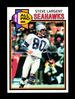 1979 Topps Football Card #198 Hall of Famer Steve Largent Seattle Seahawks.