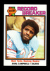 1979 Topps ROOKIE Football Card #331 Record Breaker Rookie Hall of Famer Ea