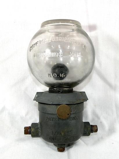 Vintage Pneumatic Compressor System Lubrication Monitor/Distributer General