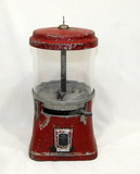 Vintage 1940's Regal Products Co Penny Gumball/Candy Dispenser Original Tag