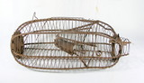 Vintage Minnow Trap Wire Construction Not 100% Functional Due To Age Rustin