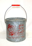 Vintage Coast to Coast Minnow/Live Bait Bucket. Excellent Good Used Condition. 9