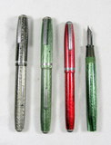 (4) Vintage EsterBrook Fountain Pens. For parts or repair.