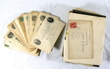 Vintage Early 1900s Personal Correspondence And Family Photos Belonging To