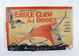 1938 Wright & McGill Carry All Show Literature Paper Folder For Eagle Claw