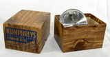 Vintage Humphreys Stationary Spool Stainless  Steel Fishing Reel. With Box.
