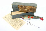 Vintage Mud Puppy Fishing Lure with Box.