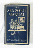 1939 Sixth Edition Boy Scouts of America Sea Scout Manual. Good Used Condit