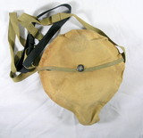 Vintage used Boy Scouts of America Camping Mess Kit with Tan Bag.