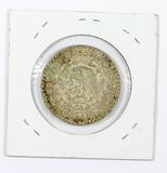 1964 Silver Mexican UnPeso