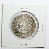 1966 Silver Mexican UnPeso
