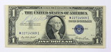 1935 US $1 Dollar Silver Certificate Signed by former Milwaukee Braves Base