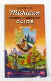 1941 Rand McNally Michigan Fishing and Hunting Guide by the Socony-Vacuum O