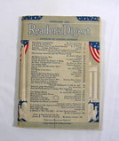 February 1943 Readers Digest. Complete and in Very Good Condition