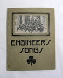 Early 1900s Engineers Songs Book. By