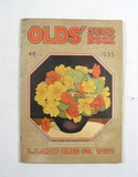 1935 Old's Seed Catalog from The L.L. Old's Seed co. in Madison,Wisconsin.