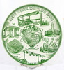 "1961 New York  Worlds Fair Commemorative Plate.  9-1/4"" Dia."