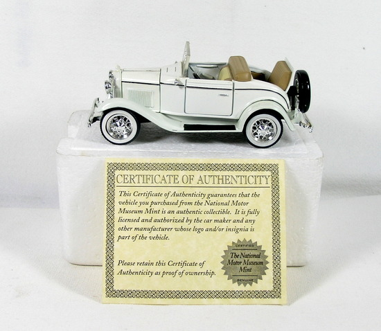 Diecast Replica of 1932 Ford V8 Cabriolet From National Motor Museum Mint 1