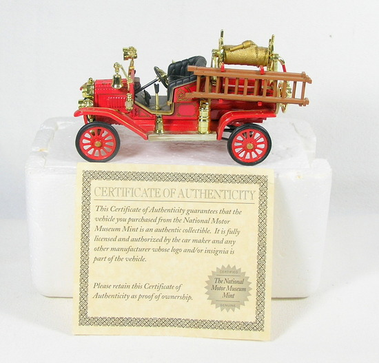 Diecast Replica of 1914 Ford Model T Fire Engine From National Motor Museum