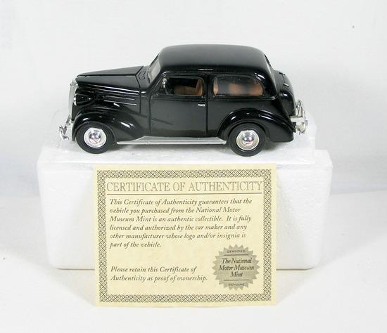 Diecast Replica of 1937 Chevrolet Master Deluxe Sedan From National Motor M