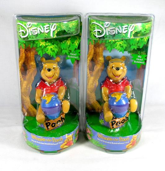 (2) Alexander Global Promotions INC. Disneys Winne The Pooh Hand Painted Bo