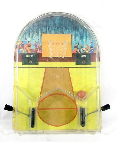 Vintage Hasbro Tabletop Baketball Pinball Game. Works need Minor Repair. 11
