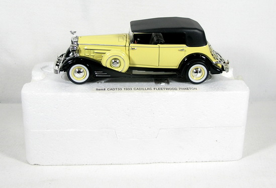Diecast Replica of 1933 Cadillac from Signature Models for National Motor M