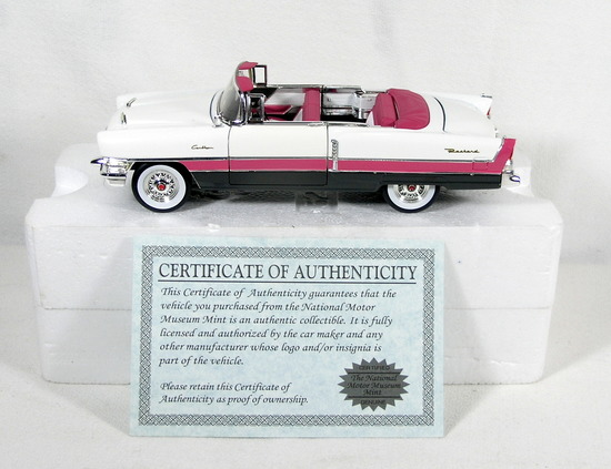 Diecast Replica of 1955 Packard Caribbean from Signature Models for Nationa