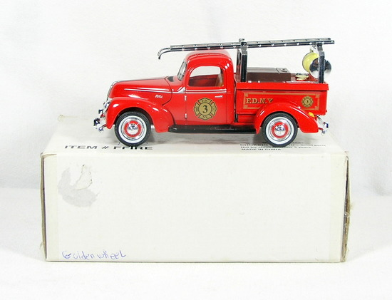 Diecast Replica of 1940 Ford Fire Truck from Signature Models for National
