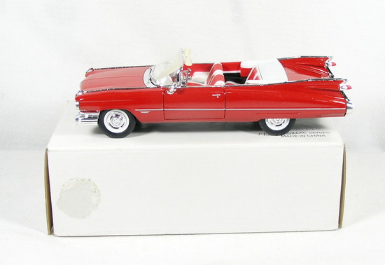 Diecast Replica of 1959 Cadillac Series 62 from Signature Models for Nation