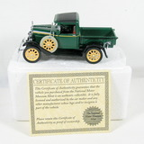 Diecast Replica of 1931 Ford Model A Pickup Truck From National Motor Museu
