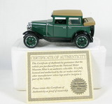 Diecast Replica of 1929 Chevy Landau Sedan From National Motor Museum Mint