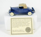 Diecast Replica of 1935 Chevrolet Standard Roadster From National Motor Mus