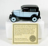 Diecast Replica of 1928 Chevy National Series AB From National Motor Museum