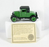 Diecast Replica of 1926 Chevy Superior V 2 Passenger Coupe From National Mo