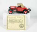 Diecast Replica of 1931 Chevrolet Sports Cabriolet From National Motor Muse