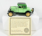 Diecast Replica of 1930 Ford Standard Coupe From National Motor Museum Mint