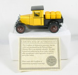 Diecast Replica of 1928 Chevy Pickup w/Barrels From National Motor Museum M