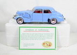Diecast Replica of 1940 Cadillac Fleetwood 60 Special from Signature Models